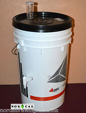 Homebrew Beer Wine Kombucha COMPLETE FERMENTING KIT Bucket, Spigot, Lid, Airlock