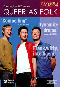 Queer as Folk: The Complete UK Collection (DVD, 2011, 3-Disc Set)