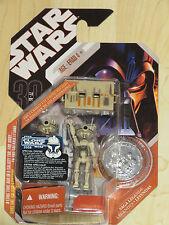 Star Wars Saga Legends 30th Anniversary Ep I 2 Pit Droids w/ Trunk & Coin NOSC