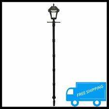 Outdoor Led Solar Post Light Pole Lamp Warm White Yard Garden Landscape Lighting