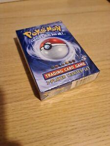 Pokemon Sealed Base Set Theme Deck Mint + Starter gift box