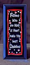 A Gift for your Father - A Keepsake Plaque for your Dad