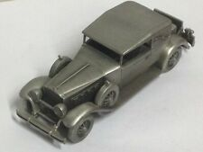 Danbury Mint ~ Limited Edition ~ Pewter Car ~ 1930 Packard Convertible