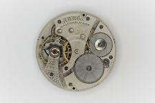 Waltham Grade 610 Pocket Watch Movement 16S 7J Model Parts/Repair SN#18773026