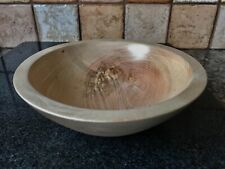Small Handmade Wooden Ash Bowl