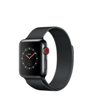 Apple Watch Series 3 - Space Black Stainless Steel Case with Space Black Milanes