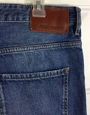 Hugo Boss Men's Boss Orange 24 Barcelona Regular Fit Zipper Fly Jeans Size 34x32