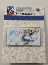 Disney Pin Trading Ink And Paint Alice In Wonderland Pin