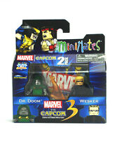 Marvel Minimates Doctor Doom & Wesker Marvel Vs Capcom Figures TRU Series 3 New
