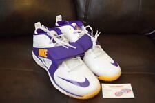 6df59256786b1 New Nike Men s Huarache Sz 11 Lakers White Gold Purple Turf LAX 554869-157
