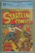 STARTLING COMICS #10 CBCS 1.8 OW PAGES