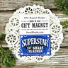 Superstar 1st Grade TEACHER * Appreciation Magnet * School NEW USA Pkg DecoWords