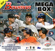 2017 Bowman Mega Box Baseball ( Lot of 2 Boxes )