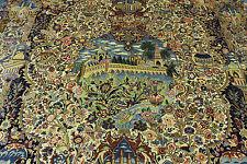 Sherkat farsh collection avec soie pièce unique tapis de Perse Tapis d'Orient