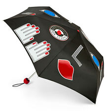 Lulu Guinness by Fulton Superslim Umbrella - Stickers