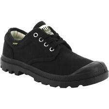 Palladium Pampa Ox Originals Casual Shoes Trainers Unisex Low Cut BOOTS 75331 Black Black-black 75331-060 UK 5 5