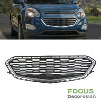 Front Lower Grille Chrome For 2016 2017 Chevrolet Equinox LS Sport Utility 4Door