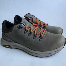 Merrell Men's Ontario Vibram Soles Orange Laces Hiking Shoes J48783 Size 9.5