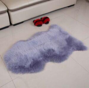 Genuine Australian Sheepskin Rug Ivory Single Double Pelt Real Sheep Fur Carpet