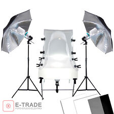 photo set for JEWELLERY product PHOTOGRAPHY - table lamps reflecting plates
