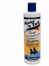 Mane'n Tail Deep Moisturizing Shampoo for Dry, Damaged Hair 12 oz (Pack of 4)