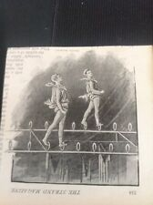 A1-6 Ephemera 1890s Picture ceiling Walking Circus Act