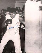 Muhammad Ali 8x10 Autographed Rare Photograph Cassius Clay Boxing Champion