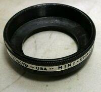 33.5mm OD Ednalite Lens Shade Hood series 5 V metal screw in type threaded