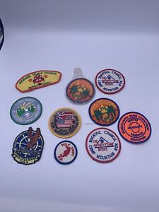 BSA Boy Scouts  Misc. Lot of 10 Patches # 7 1990's