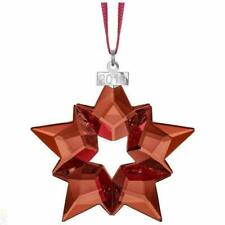Swarovski 5476021 Star Holiday Ornament - Red