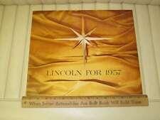 1957 Lincoln Premiere, Capri Sales Brochure