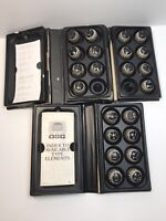 Vintage 1st Gen Select-A-Type IBM Selectric Typewriter Balls Lot of 22