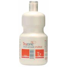 Truzone Hair Peroxide 6% 20 volume LITRE (1000ml) NEW
