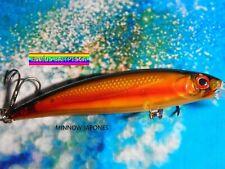 Jerkbait Señuelo Minnow Pesca Black Bass lucio Spinning ROCKFISHING CD777