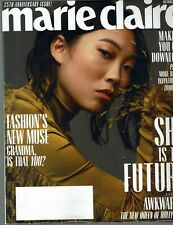 MARIE CLAIRE Magazine October 2019 Issue AWKWAFINA -- HOLLYWOOD Cover/Article