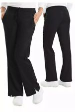 Purple Label Womens 3X Pants Scrubs Taylor Black Drawstring Healing Hands Plus