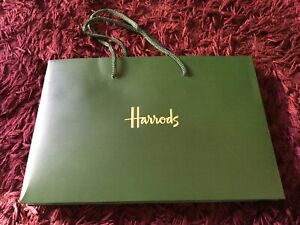 Harrods Boutique Gift Bag - Original with rope handles