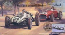 1959a COOPER-CLIMAX T-51 & FERRARI D246, MONTE CARLO F1 cover signed TONY MARSH