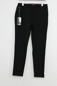 RAPHA Men's Black Cotton High Rise Slim Fit Randonnee Trousers W30 L32 NEW