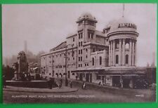 VALENTINES SERIES Postcard c.1925 ALHAMBRA MUSIC HALL & WAR MEMORIAL BRADFORD
