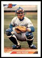 1992 Bowman Mike Piazza RC Dodgers #461
