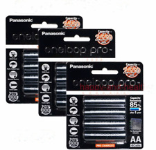 12PCS x Panasonic Eneloop Pro 2450mAh AA High Capacity Rechargeable Batteries