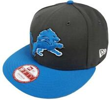 New Era NFL Detroit Lions Graphite Snapback Cap S M 9fifty Limited Edition