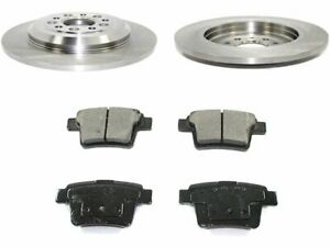 For 2005-2007 Ford Five Hundred Brake Pad and Rotor Kit Rear 18817VX 2006