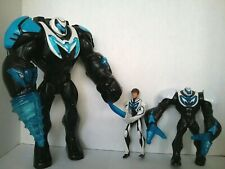 Lot Mattel Max Steel Turbo Drill Action Figures Rare