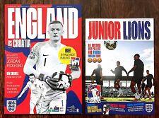 England v Croatia Uefa Nations League Programme & Free Pullout 18 November 2018