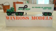 Vintage Winross NEW PENN MOTOR EXPRESS 50 YEARS OF SERVICE Truck 1:64 Scale
