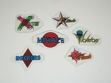 Rollergames Key Chain Pinball Promo Plastic Set FOBs