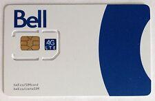 Bell Regular LTE Sim Card