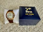 FINA 1908-2008 100 YEARS Collectible Limited Edition Watch in Original Box NICE!